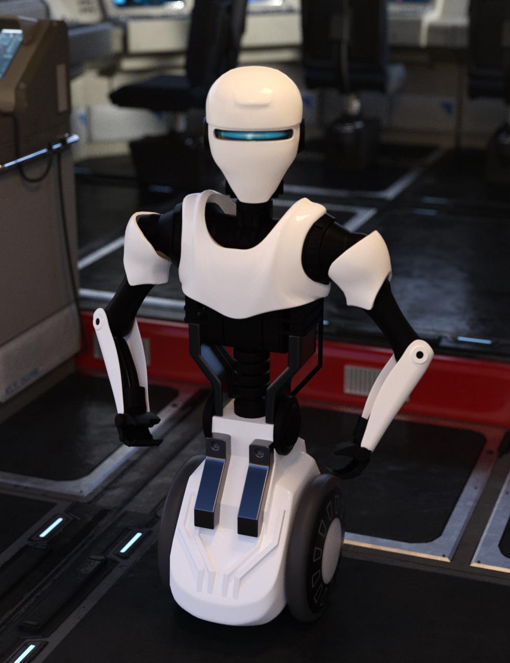 Service Robot by: Charlie, 3D Models by Daz 3D