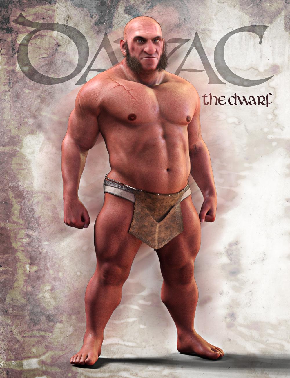 Davac The Dwarf for Genesis 8 Male by: Matari3D, 3D Models by Daz 3D
