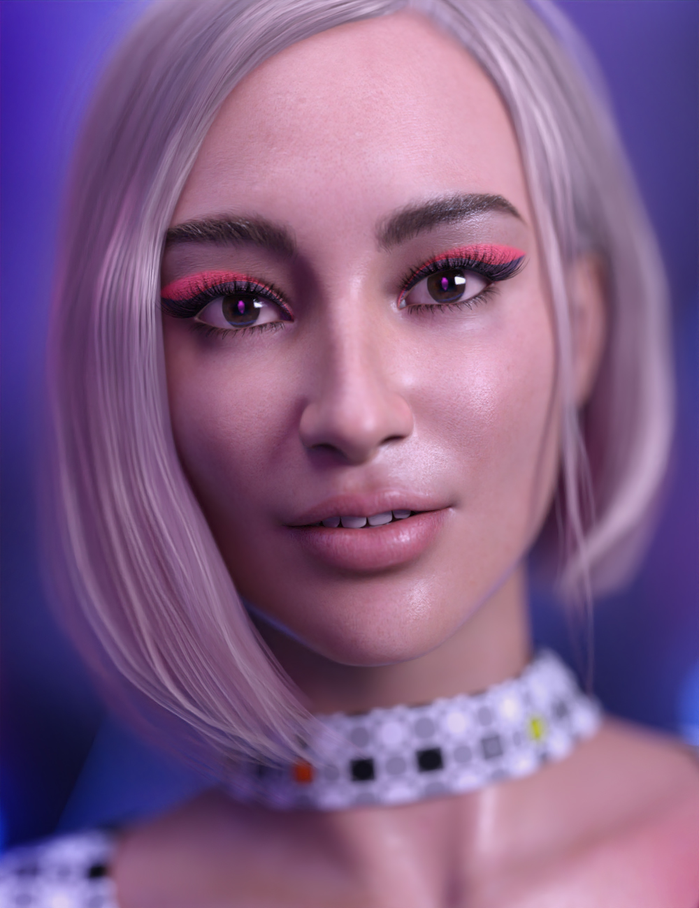 Yve for Alawa 8 by: SR3, 3D Models by Daz 3D