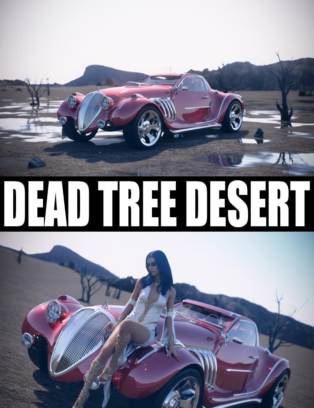 Dead Tree Desert by: Dreamlight, 3D Models by Daz 3D