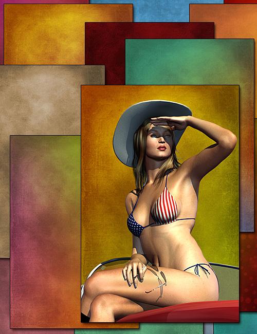 Portrait Artists Backgrounds by: Diane, 3D Models by Daz 3D
