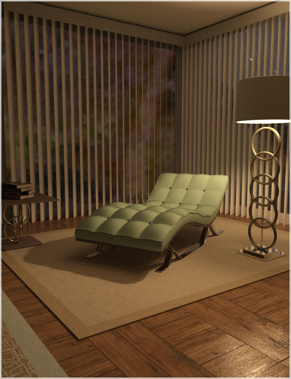 Living Space by: Belladzines, 3D Models by Daz 3D