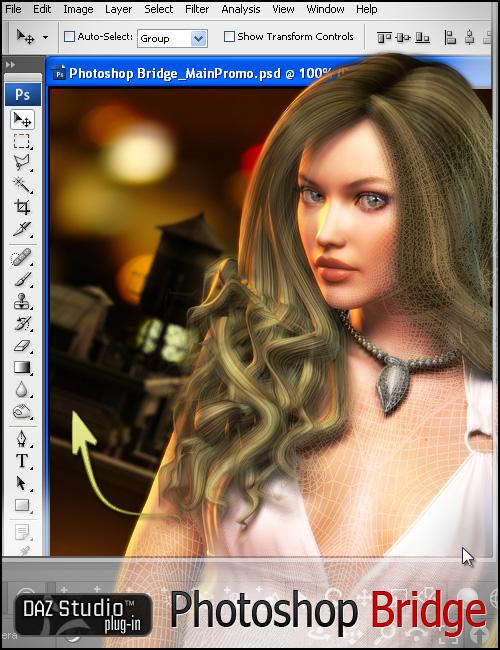 3D Bridge for Photoshop by: , 3D Models by Daz 3D