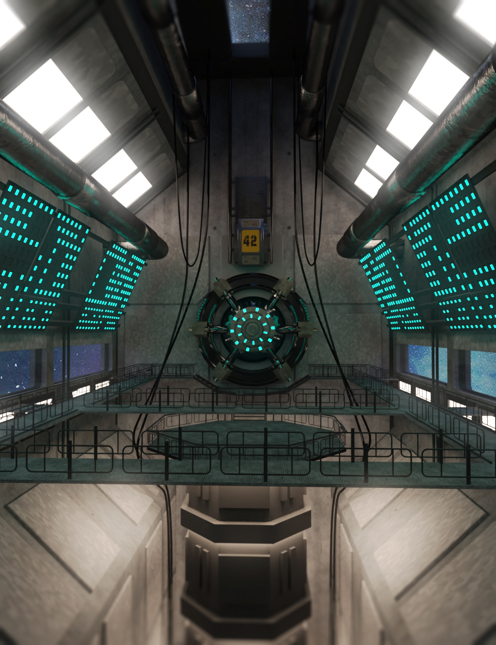 Astral Gate by: PerspectX, 3D Models by Daz 3D