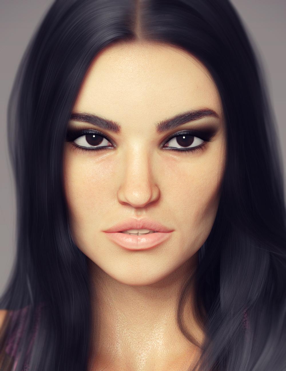Aiya HD for Genesis 8 Female by: maelwenn, 3D Models by Daz 3D