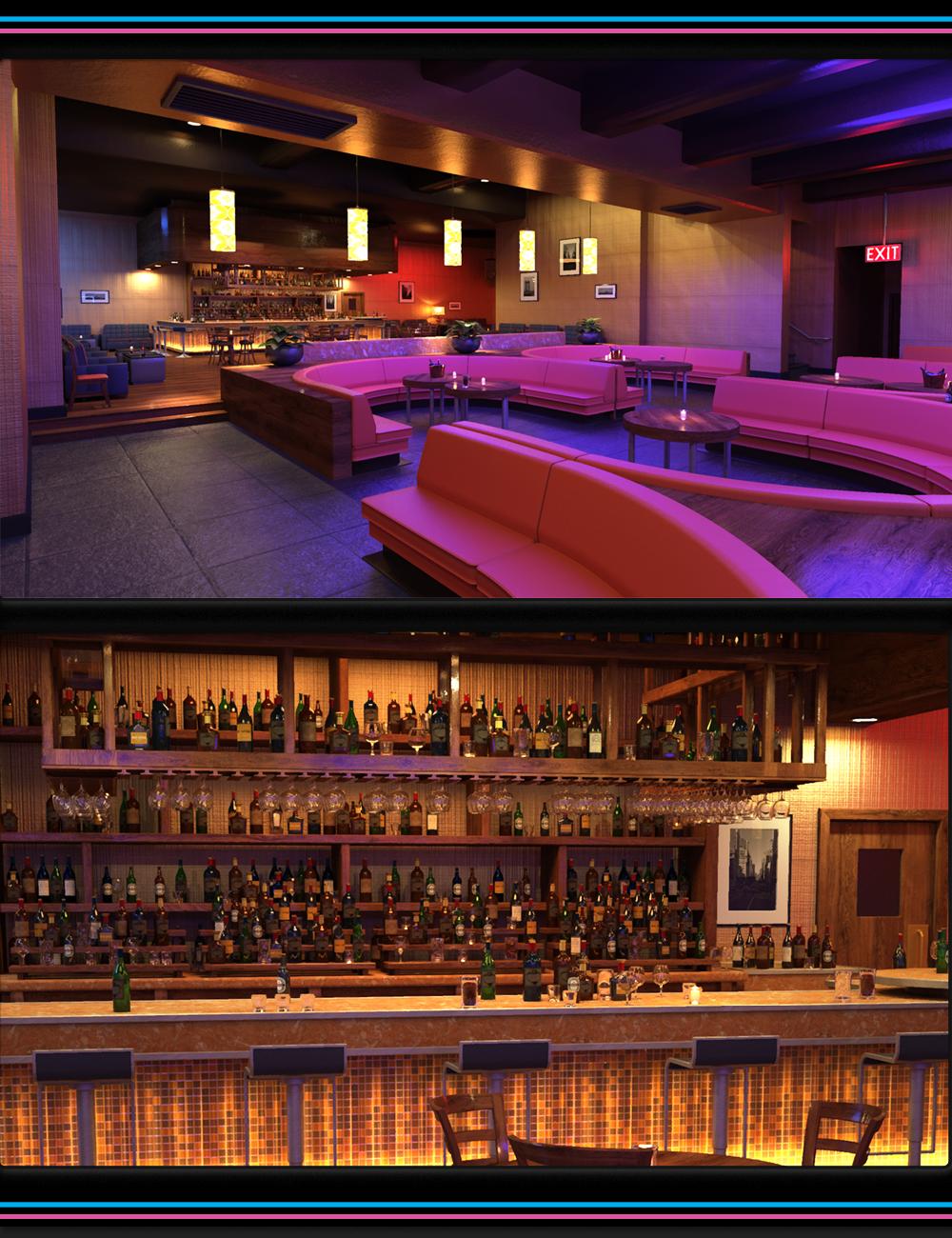 Night Lounge Iray by: Marshian, 3D Models by Daz 3D