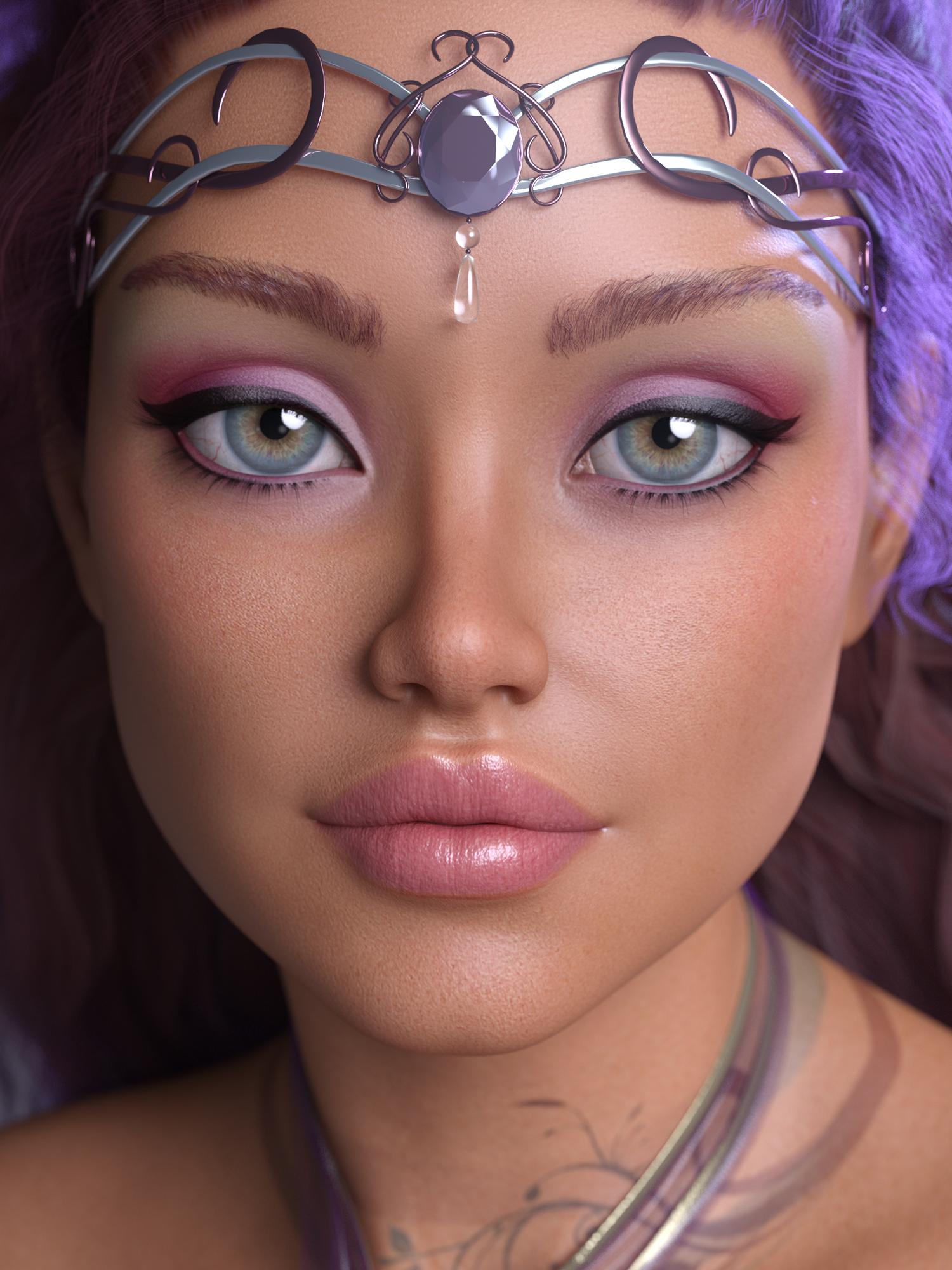 Alloralla for Aubrey 8 by: JessaiiAdiene, 3D Models by Daz 3D