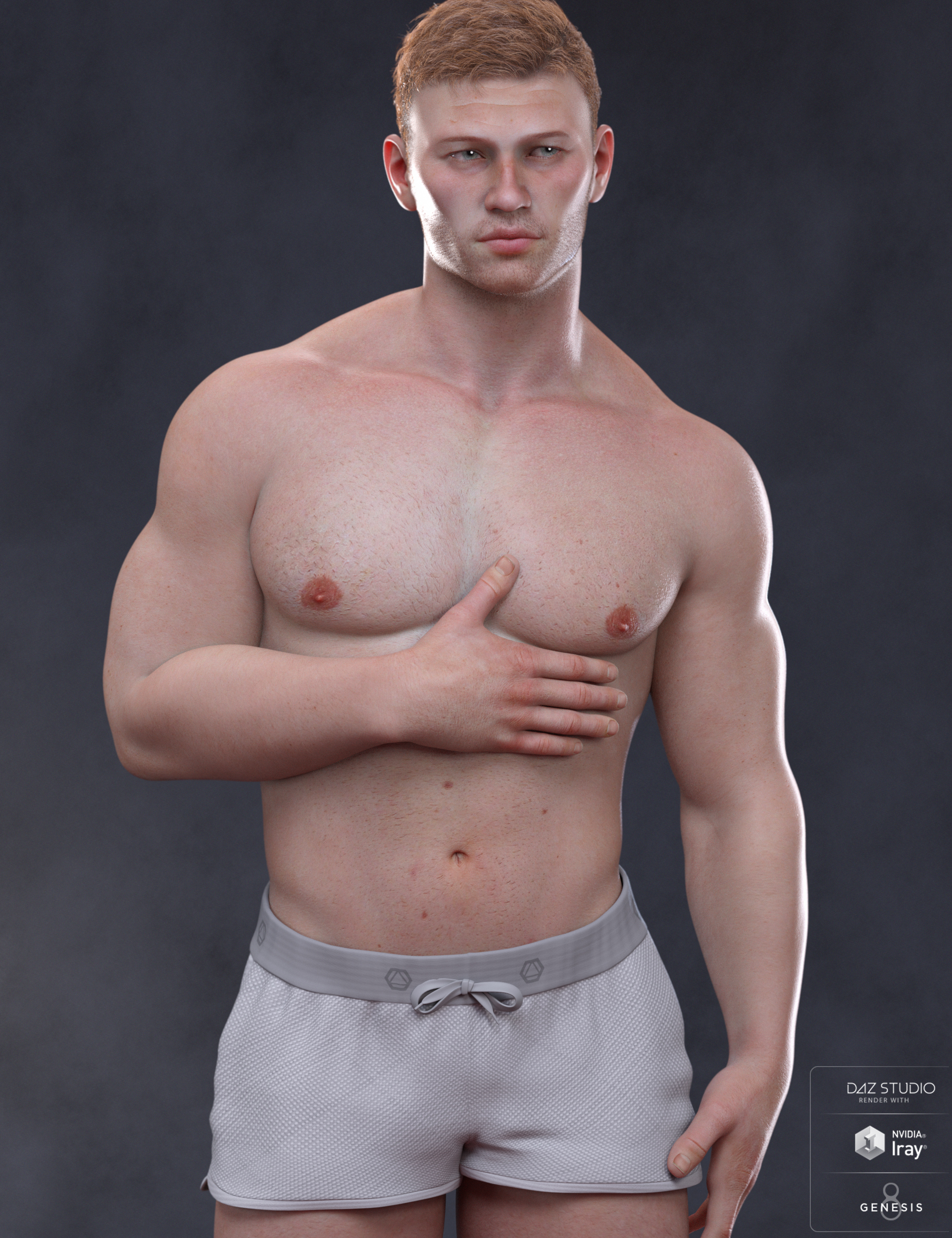 Alexei Materials for Scar 8 and Genesis 8 Male by: Morris, 3D Models by Daz 3D