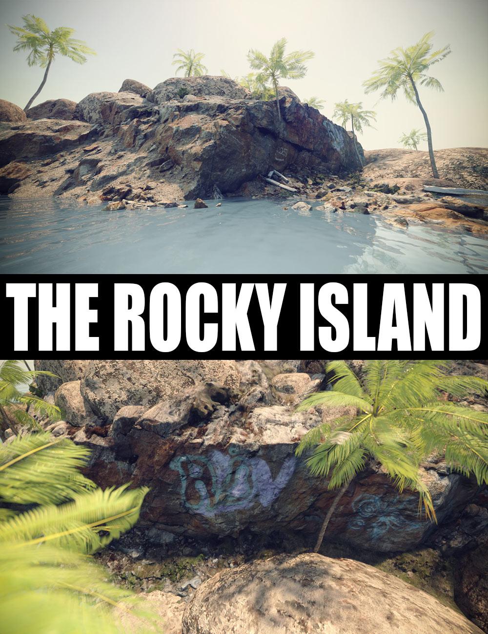 The Rocky Island by: Dreamlight, 3D Models by Daz 3D