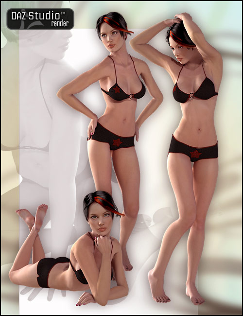 V4 Elite Life Poses by: Digiport, 3D Models by Daz 3D