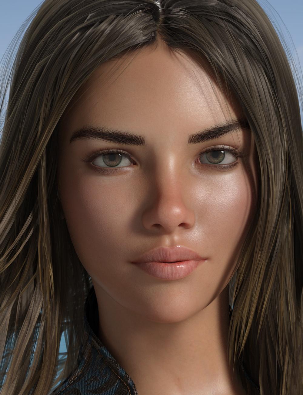 P3D Saskia HD for Genesis 8 Female(s) by: P3Design, 3D Models by Daz 3D