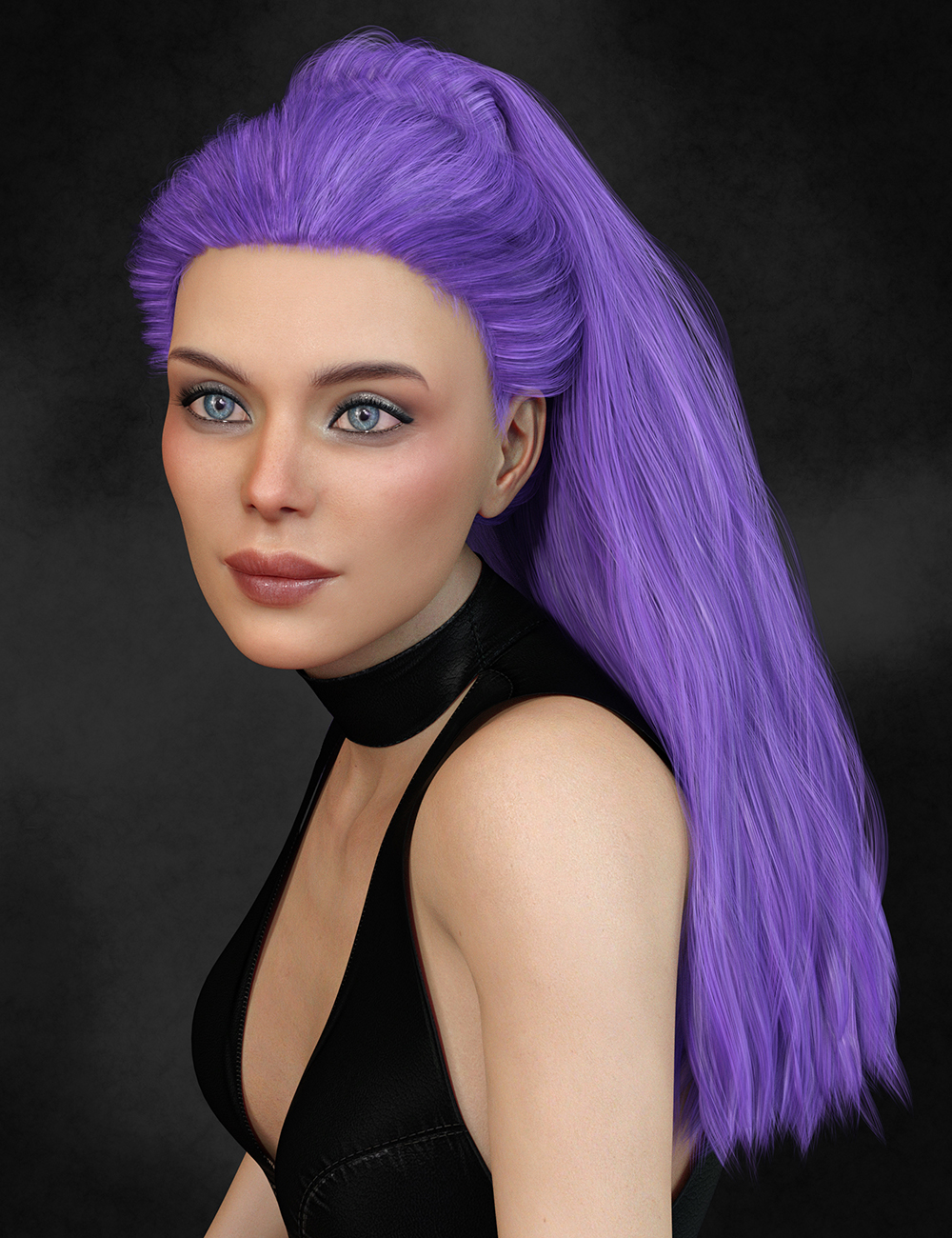 Texture Expansion for Biscuits Noa Hair by: Biscuits, 3D Models by Daz 3D