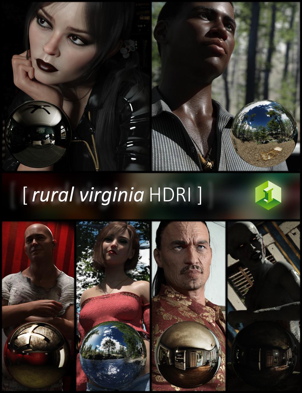 Rural Virginia HDRI by: JDA HDRI, 3D Models by Daz 3D