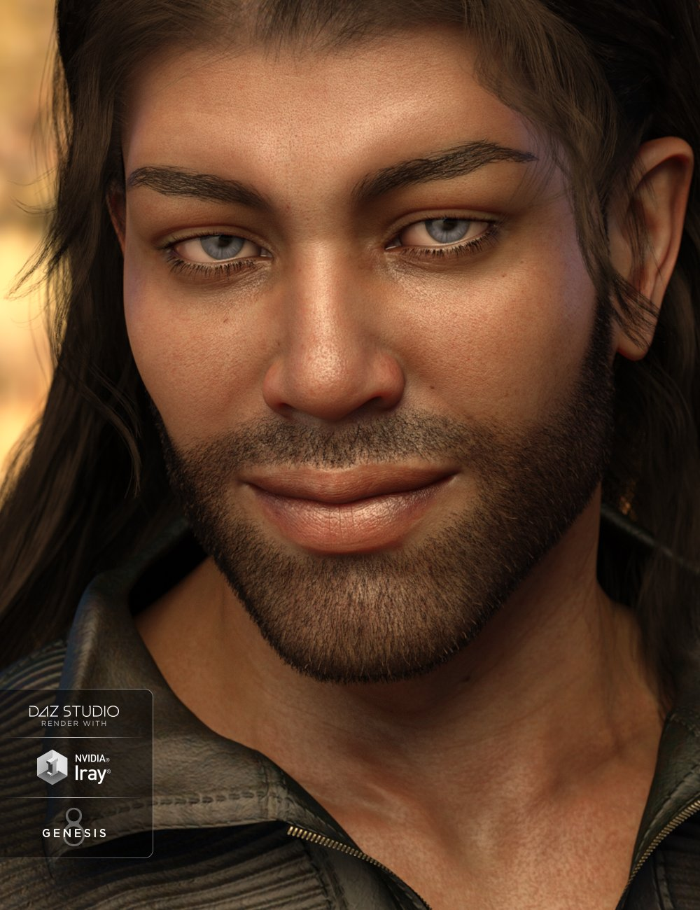 Ashan Beard for Genesis 8 Male by: Laticis Imagery, 3D Models by Daz 3D