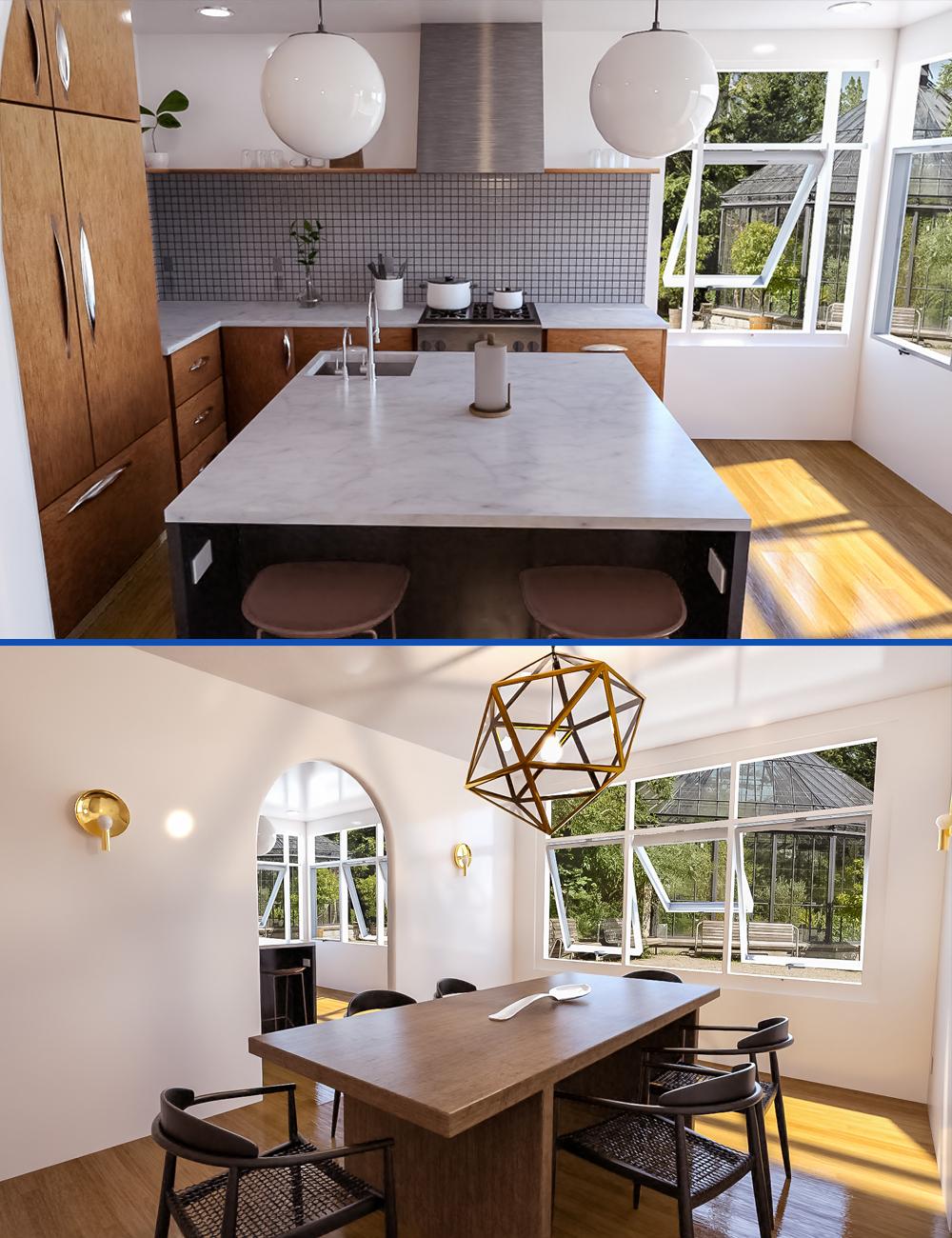 Nostalgic Kitchen by: bituka3d, 3D Models by Daz 3D