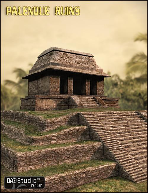 Palenque Ruins by: , 3D Models by Daz 3D