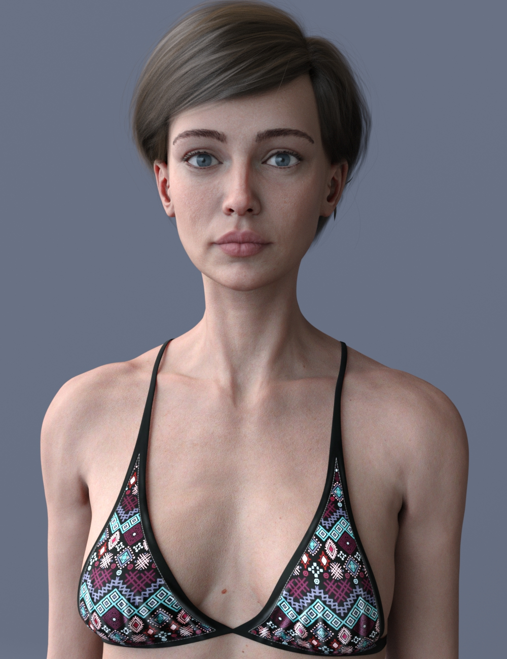 Hagar for Genesis 8 Female by: Carboncrow, 3D Models by Daz 3D