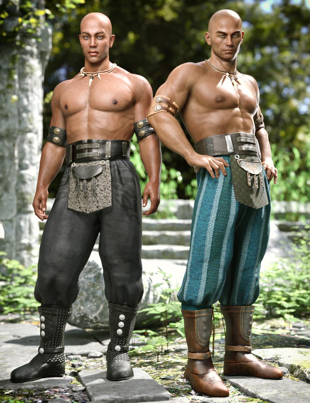 Lion Clan Outfit Textures by: Moonscape GraphicsSadeShox-Design, 3D Models by Daz 3D