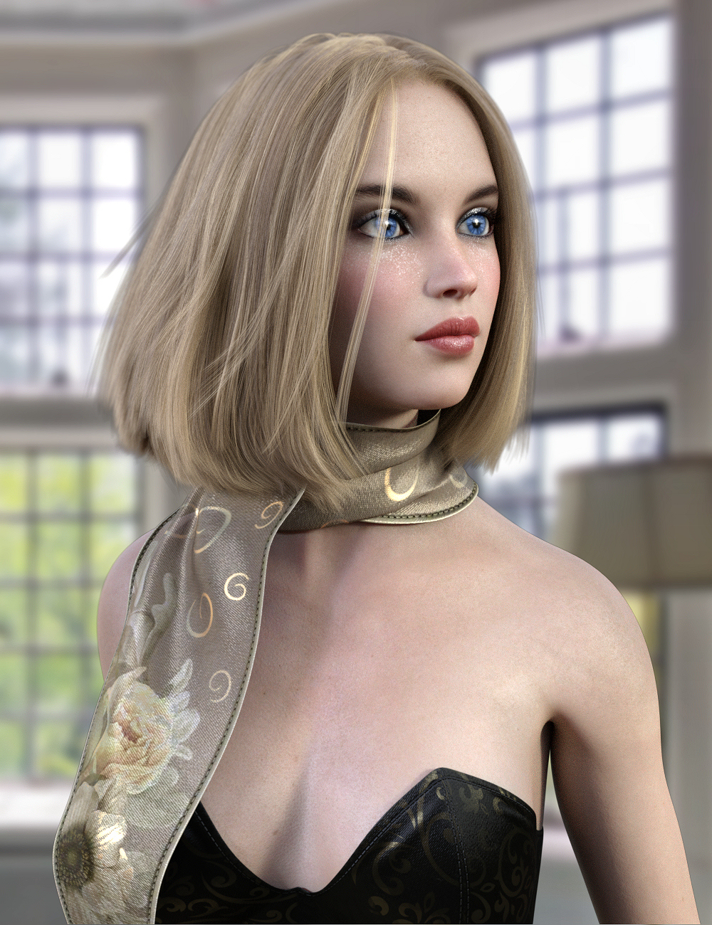 Natty Hair for Genesis 8 Female(s) by: Propschick, 3D Models by Daz 3D