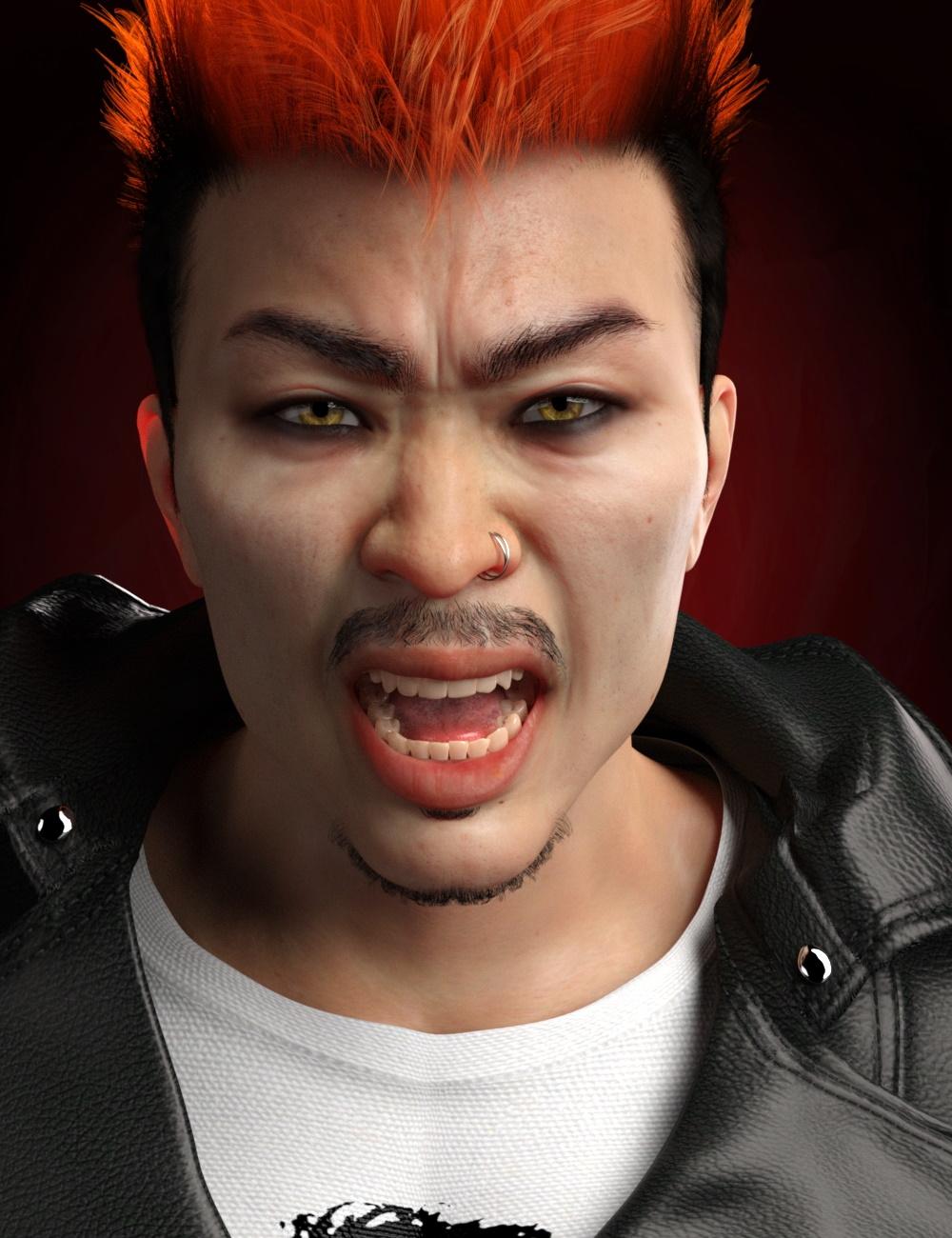 Haru HD for Kwan 8 by: RedzStudio, 3D Models by Daz 3D