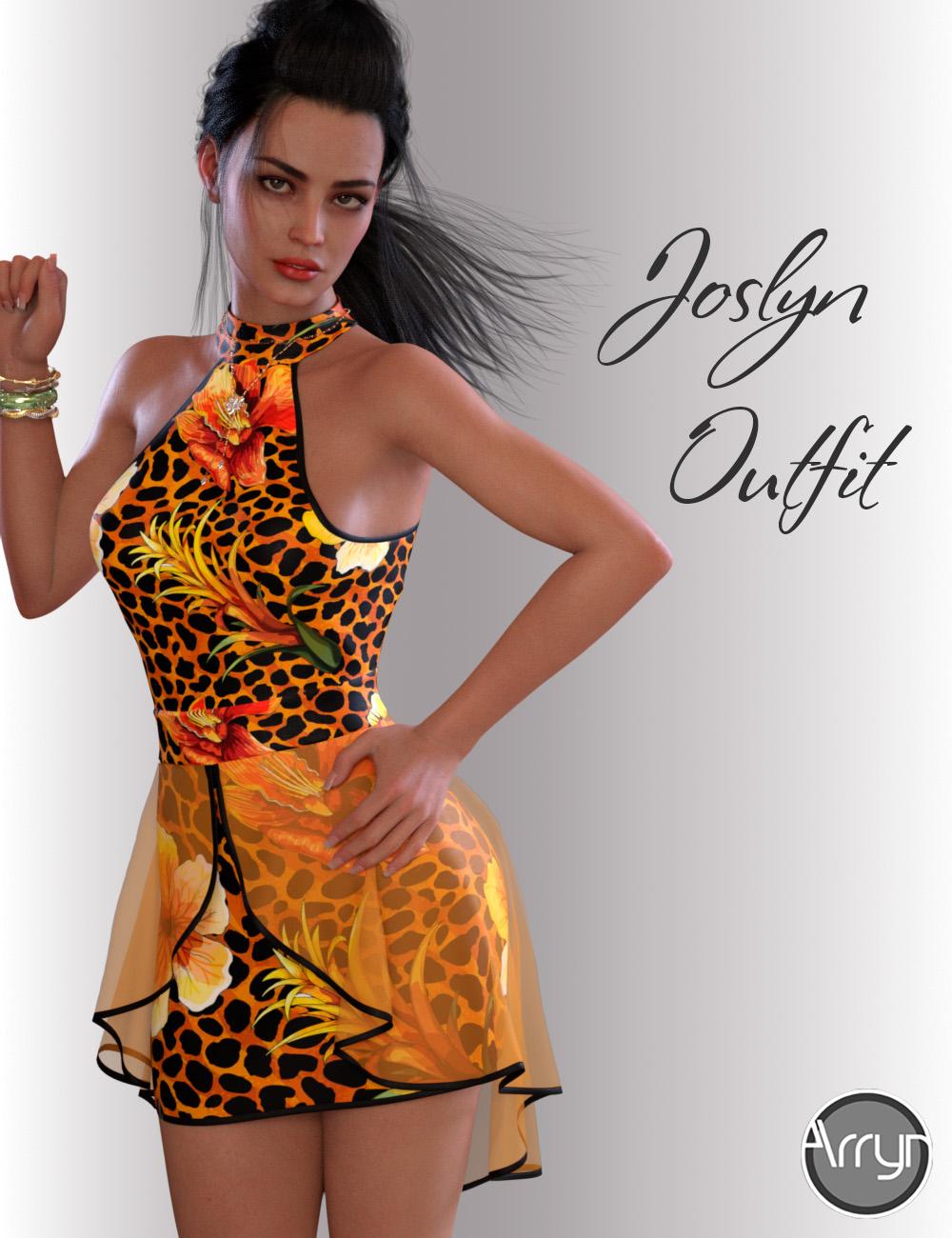 dForce Joslyn Candy Outfit for Genesis 8 Female(s) by: OnnelArryn, 3D Models by Daz 3D