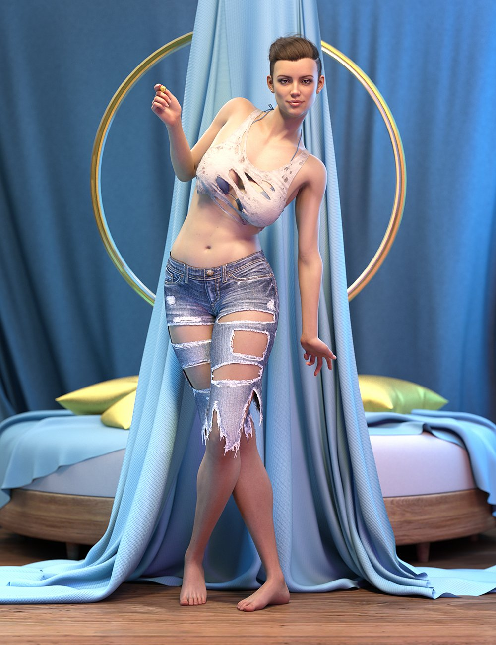 LI Incandescent - PhotoBox for Iray by: Laticis Imagery, 3D Models by Daz 3D