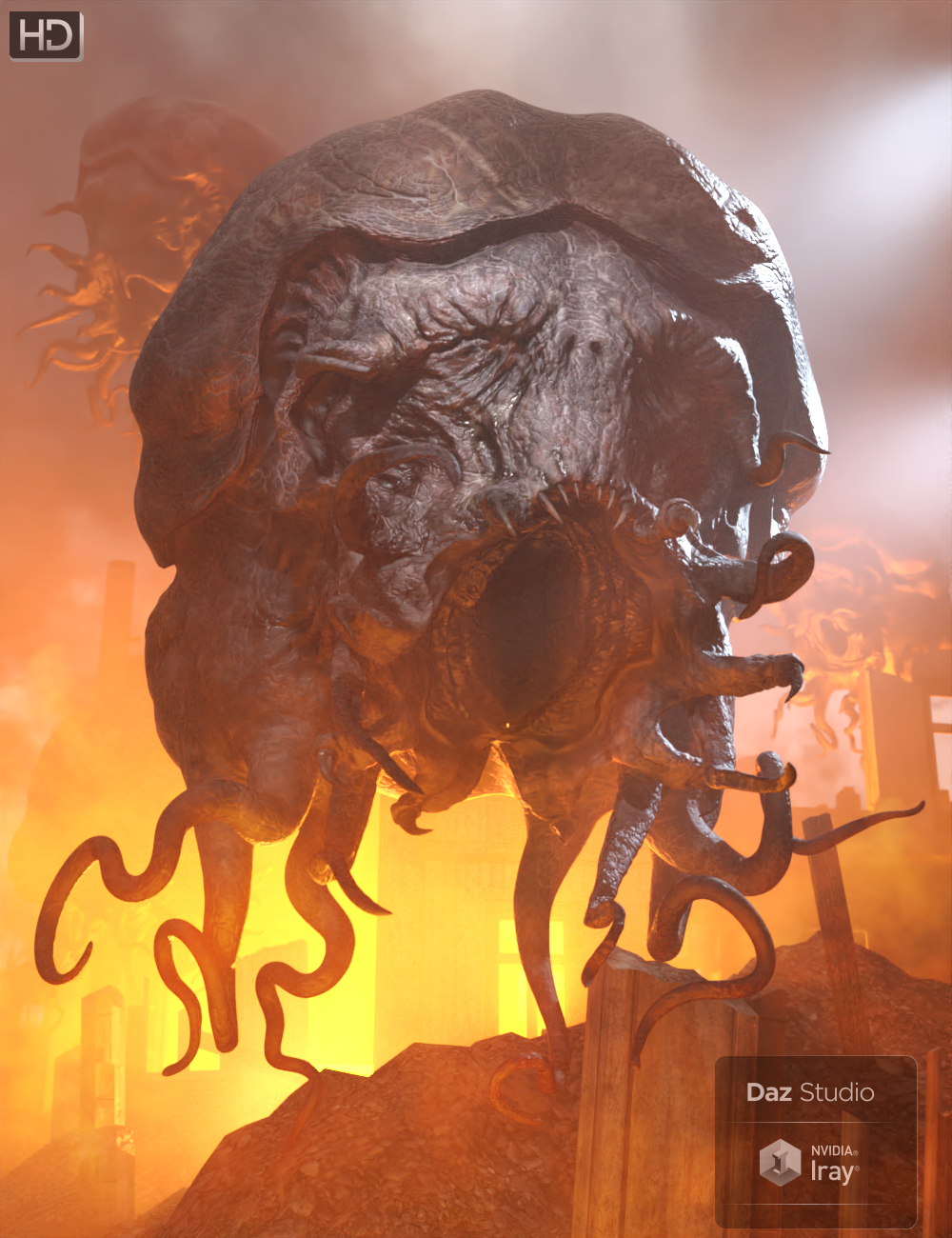 GP Elder God HD by: Groovy Patrol, 3D Models by Daz 3D