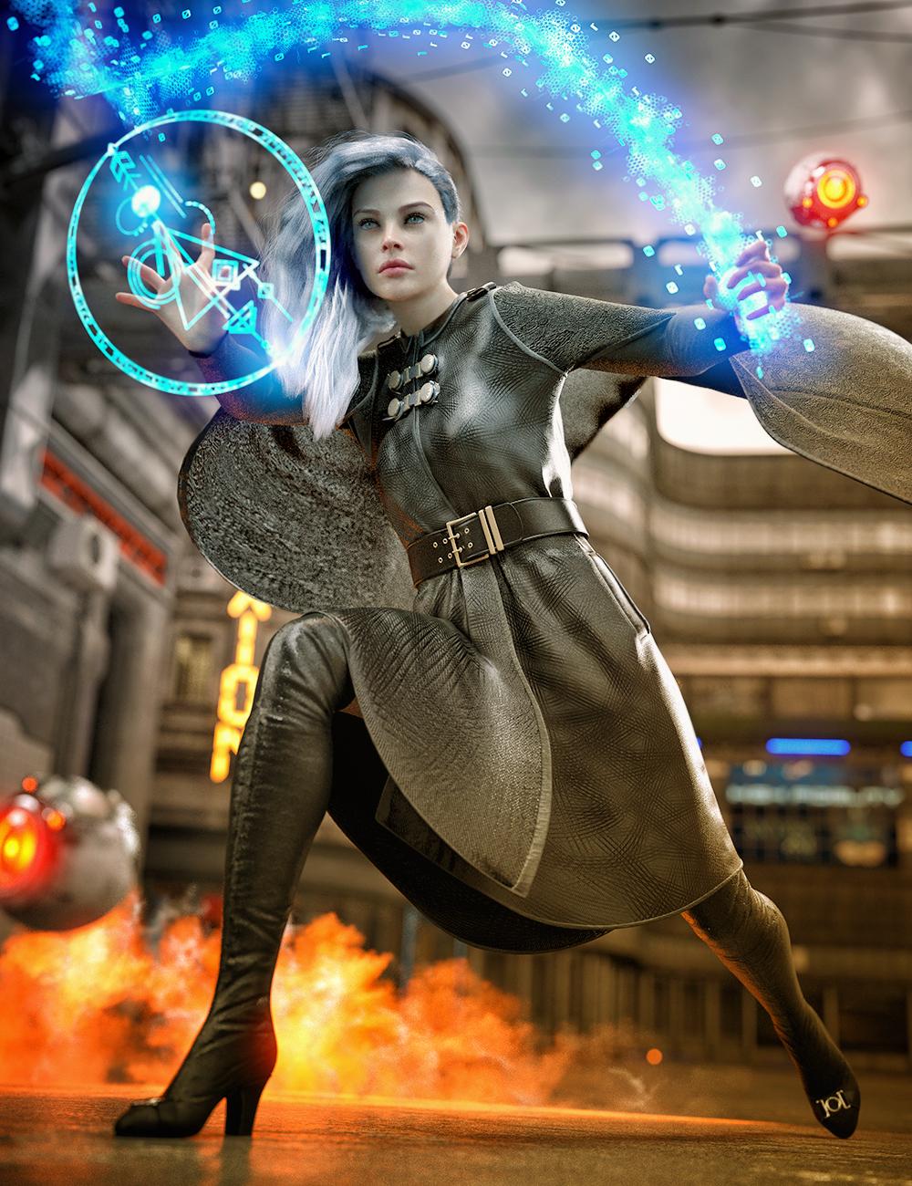 Moriah the Conjurer Bundle by: , 3D Models by Daz 3D