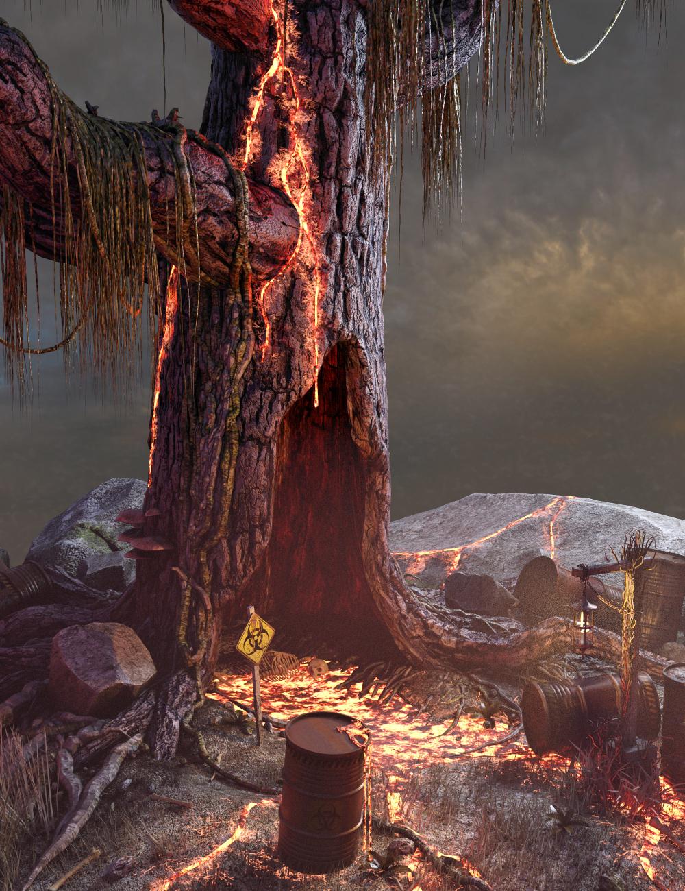 Arbor Toxicus by: Merlin Studios, 3D Models by Daz 3D