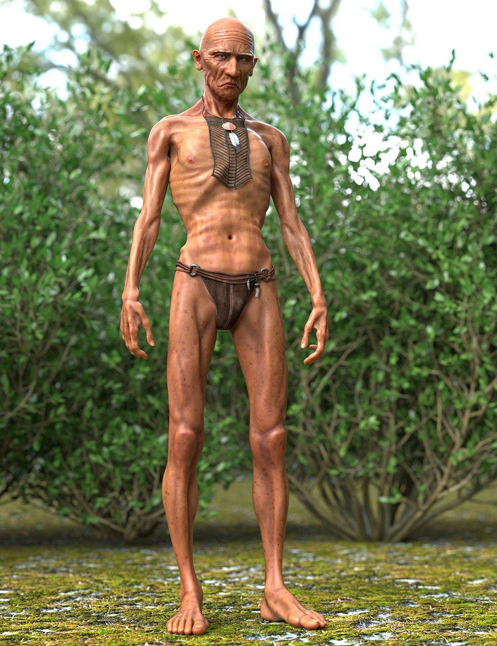 Raven Mocker HD for Genesis 8 Male by: Oso3D, 3D Models by Daz 3D