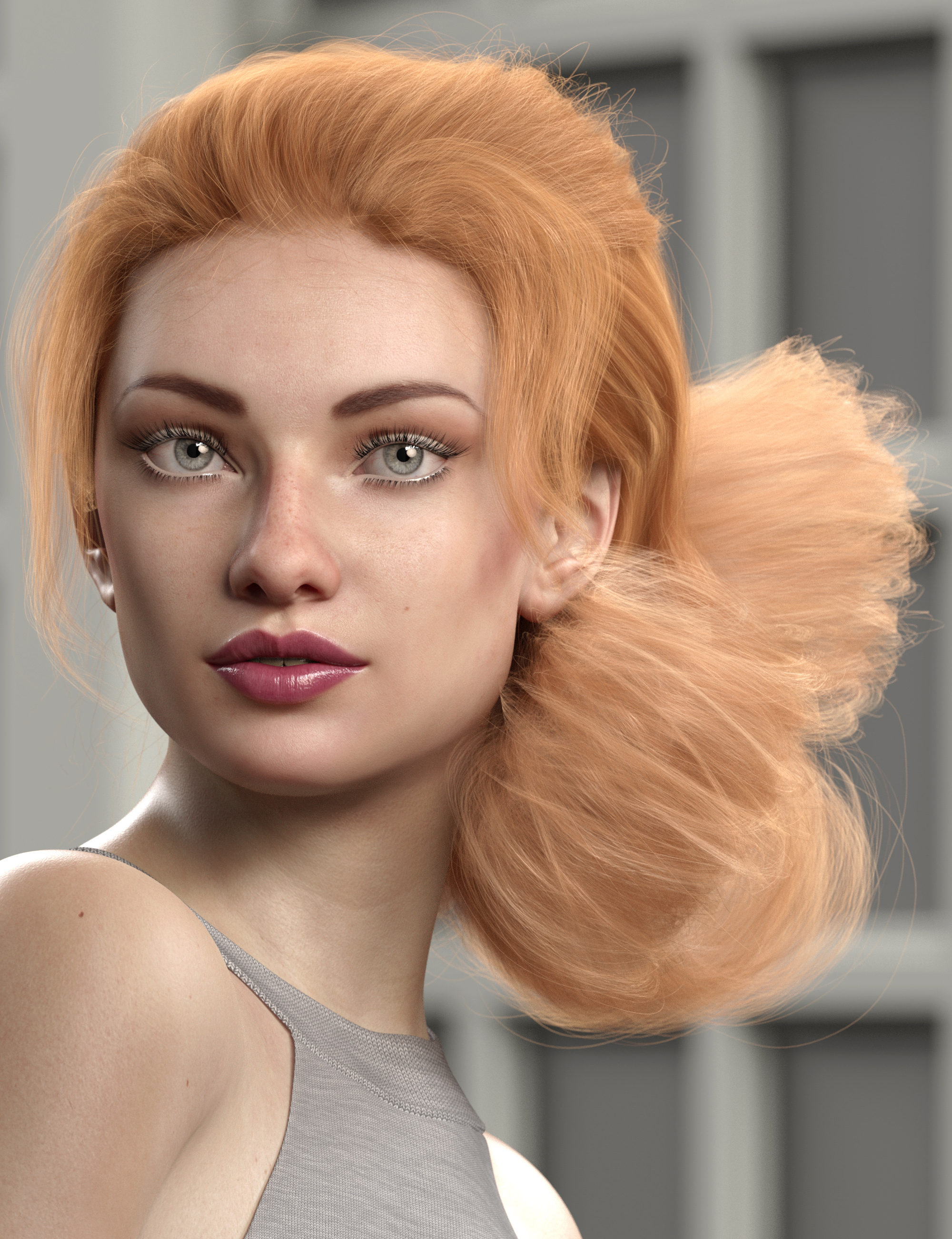 Texture Expansion for Low Updo Hair by: outoftouch, 3D Models by Daz 3D