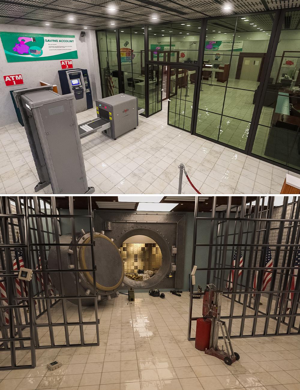 Bank Heist Props by: , 3D Models by Daz 3D