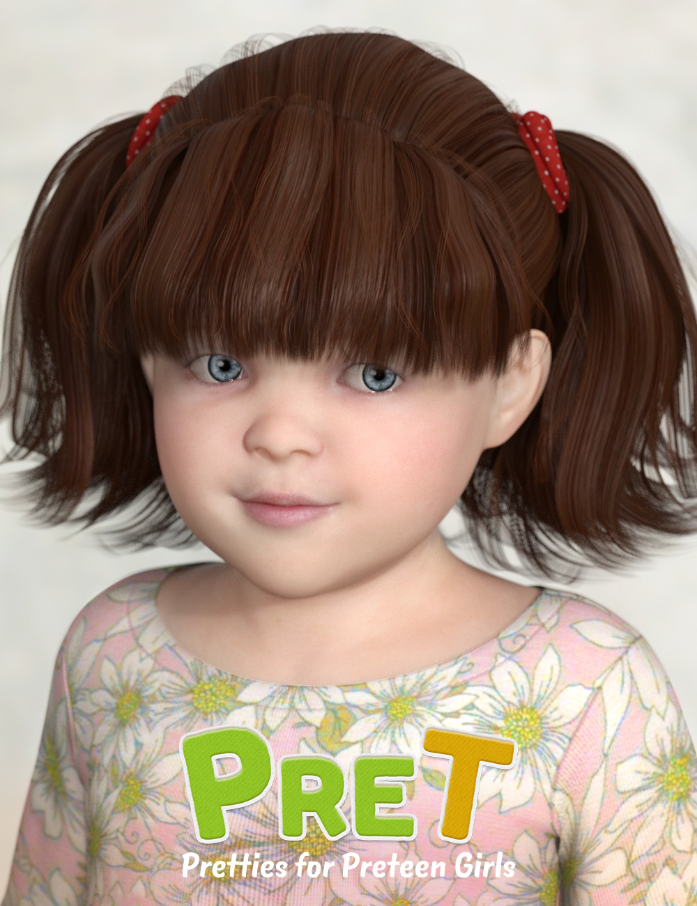 PreT Girls Fringe Hair for Genesis 8 Female(s) by: elleque, 3D Models by Daz 3D