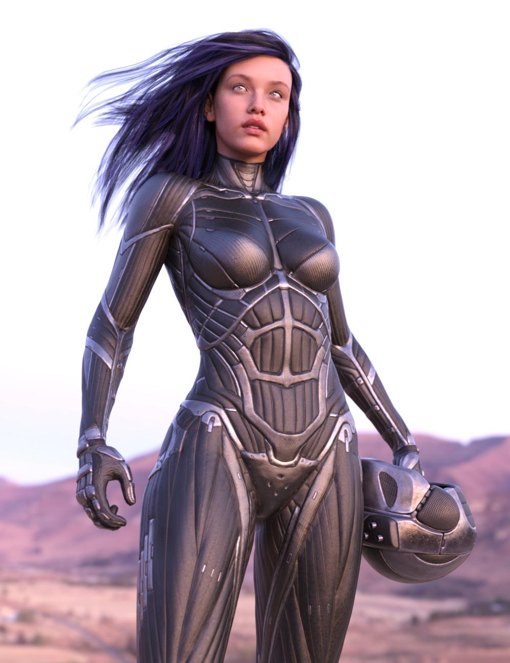Vitruvian Exosuit for Genesis 8 Female(s) by: Dajenksta, 3D Models by Daz 3D