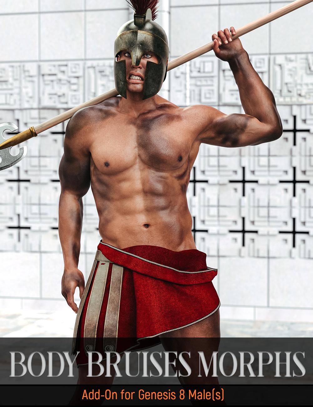 Body Bruises Morphs for Genesis 8 Male(s) by: FenixPhoenixEsid, 3D Models by Daz 3D