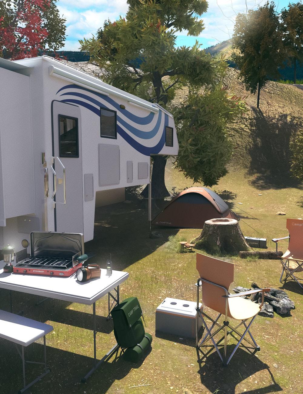 FG Camping by: Fugazi1968Ironman, 3D Models by Daz 3D