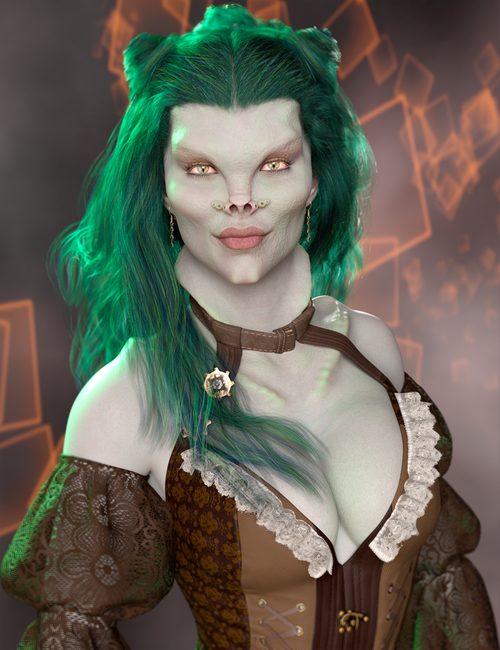 Mst Morelia HD for Honni 8 by: Mstene, 3D Models by Daz 3D