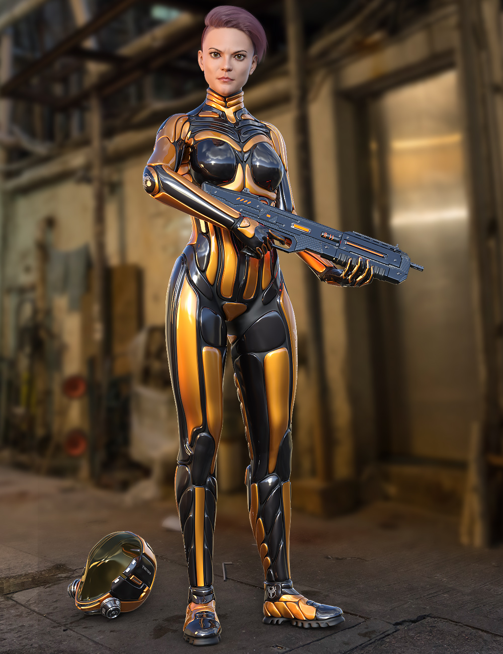 S8 Suit for Genesis 8 Female(s) by: midnight_stories, 3D Models by Daz 3D