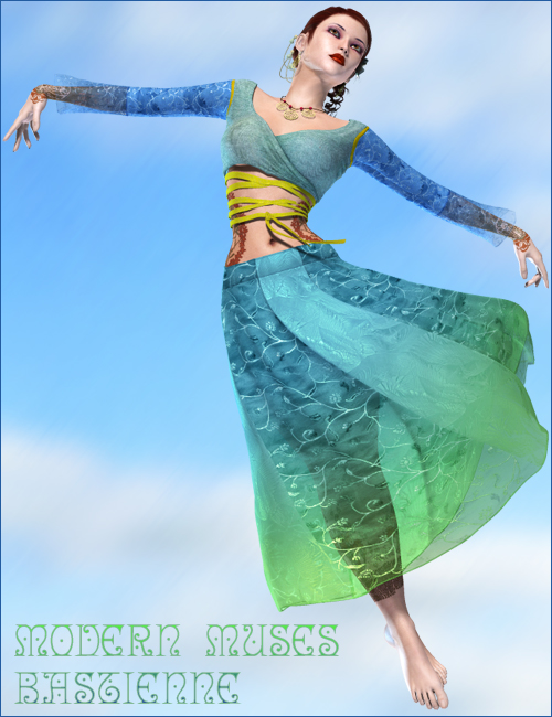 Modern Muses for Victoria 4.2 Elite / Aiko 4 by: 4blueyes, 3D Models by Daz 3D