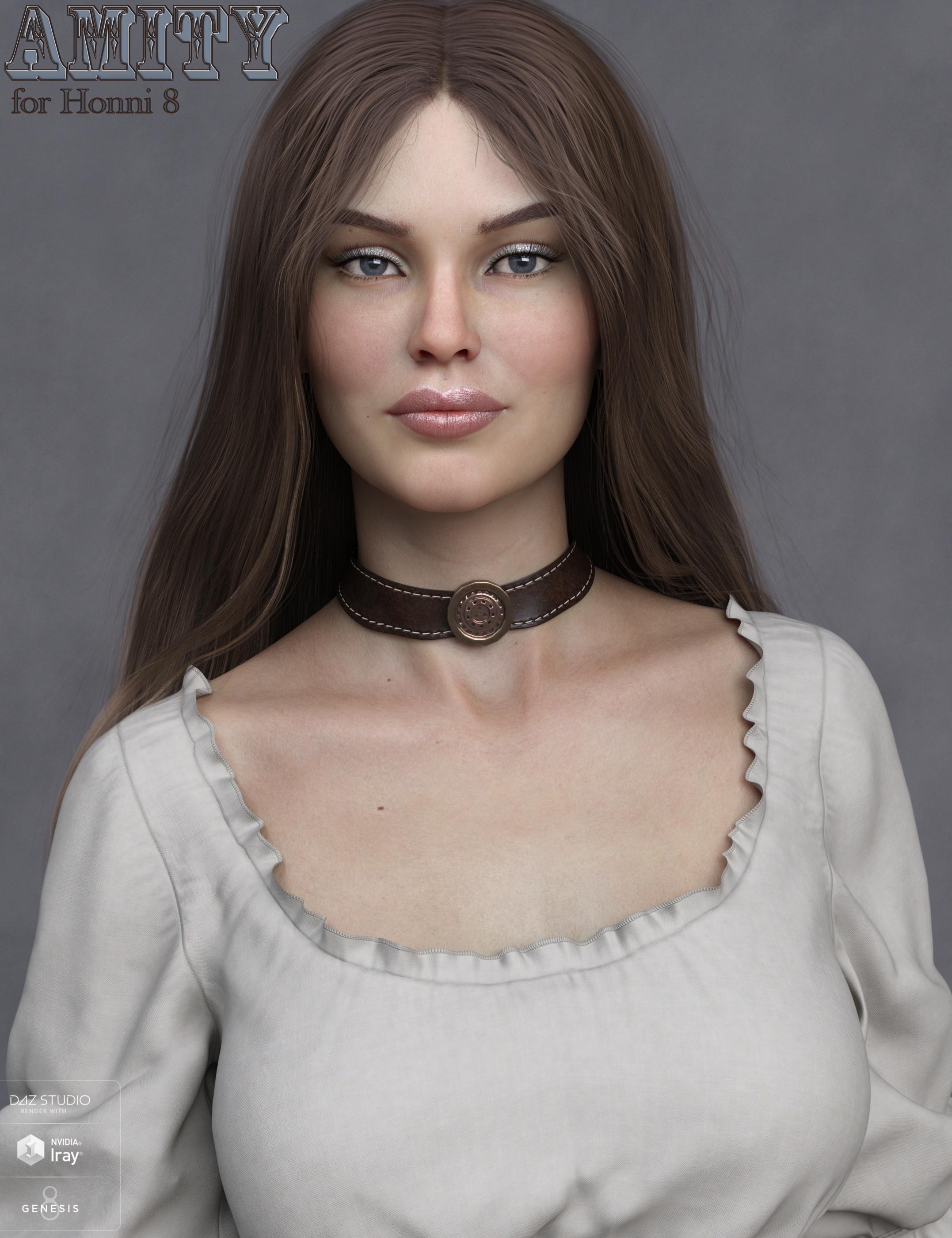 Amity HD for Honni 8 by: EmrysMorris, 3D Models by Daz 3D