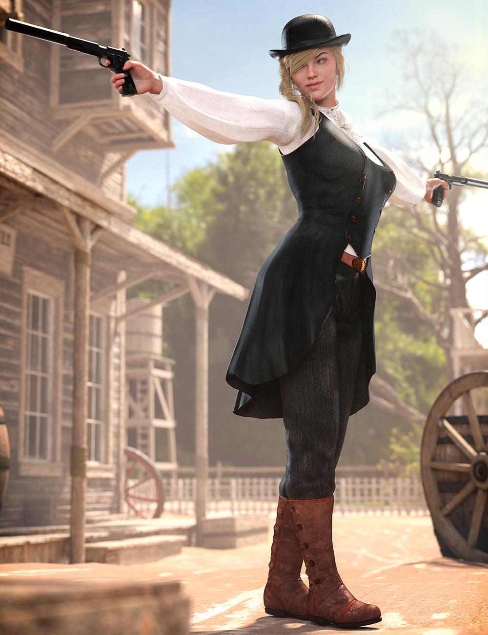 dForce Missi Judge Outfit for Genesis 8 Female(s) by: Arki, 3D Models by Daz 3D