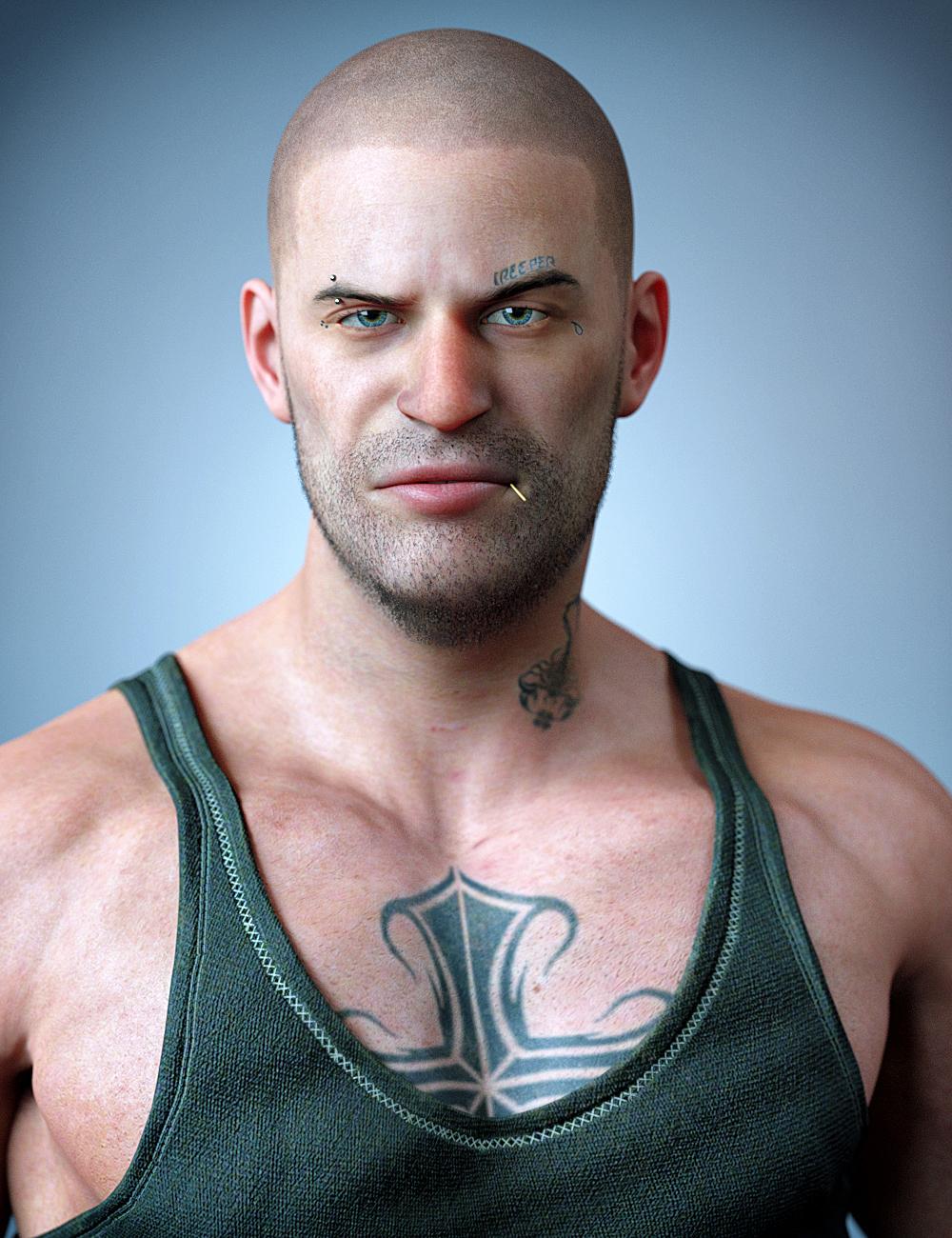 Vince HD for Genesis 8 Male