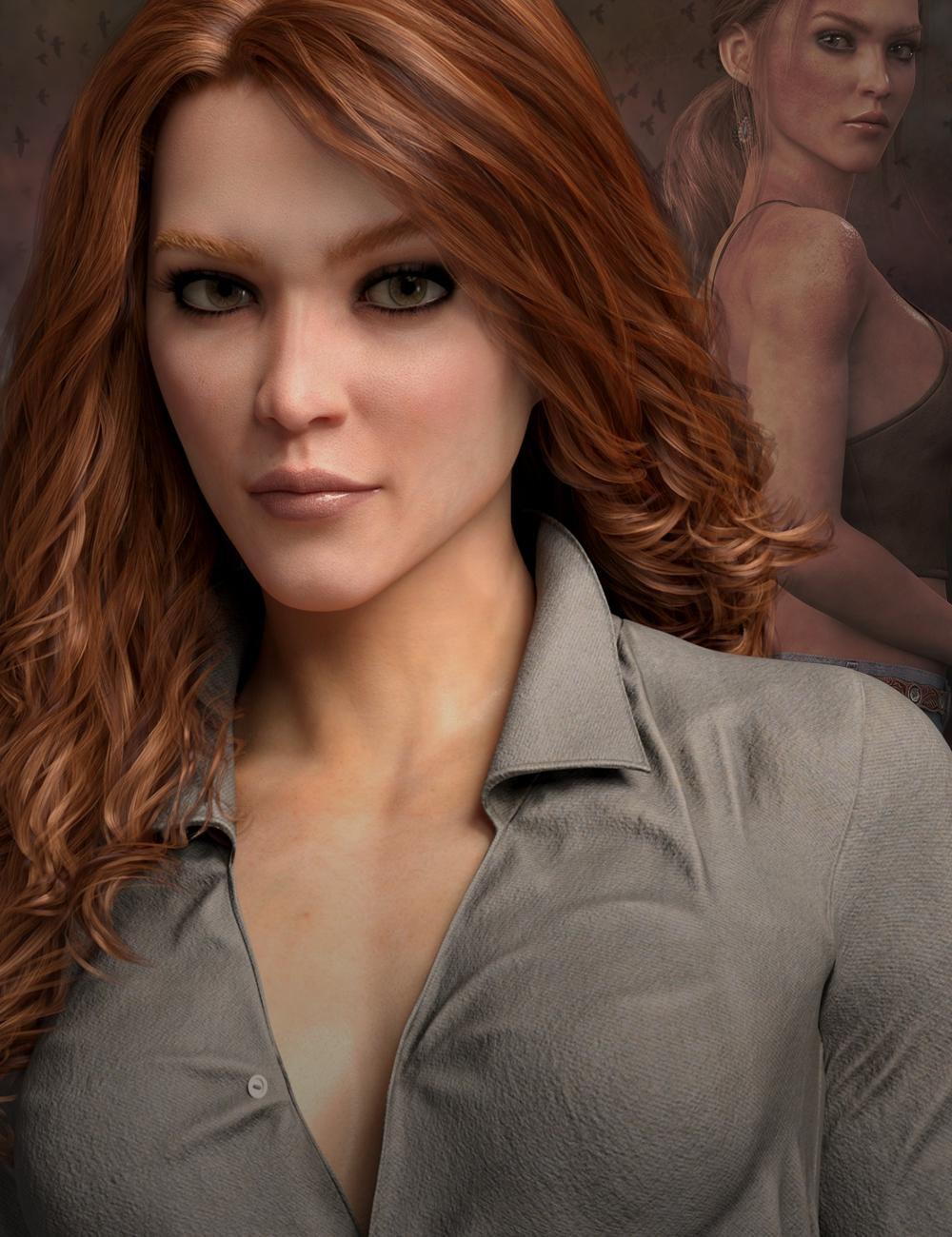 Rory HD for Genesis 8 Female by: Lyoness, 3D Models by Daz 3D