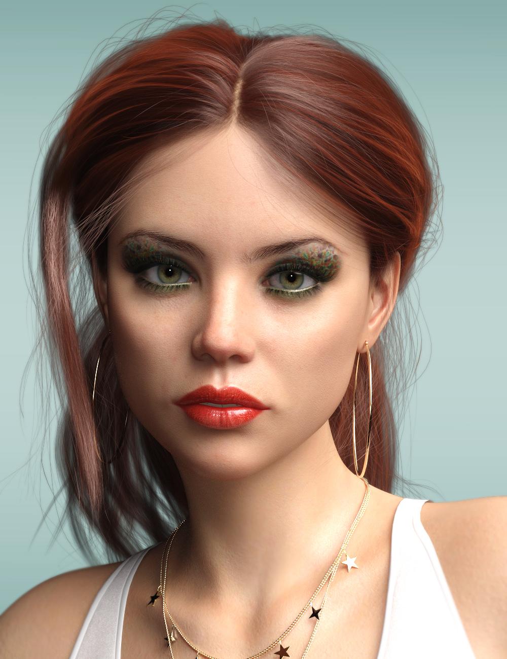 P3D Paige HD for Genesis 8 Female by: P3Design, 3D Models by Daz 3D