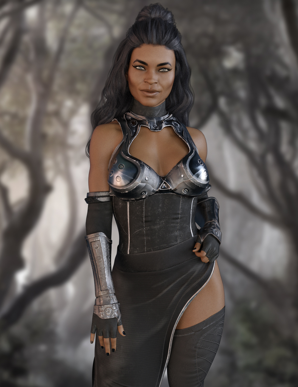 X FASHION FORCE SABER OUTFIT FOR GENESIS 8 FEMALE(S)