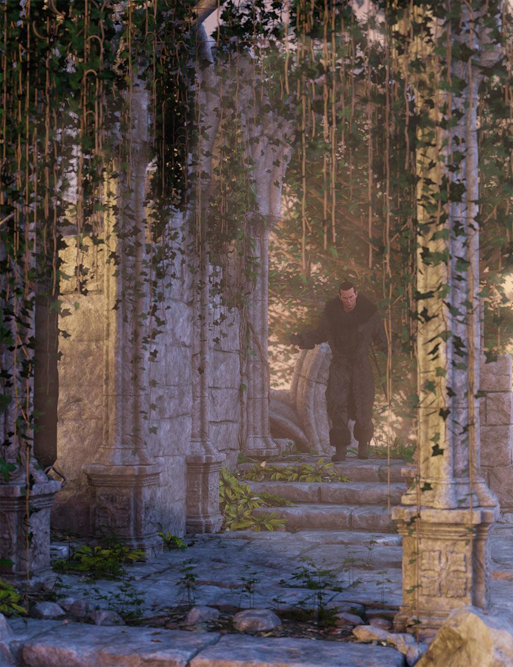 Hanging Vines -  Ivy Plants by: MartinJFrost, 3D Models by Daz 3D