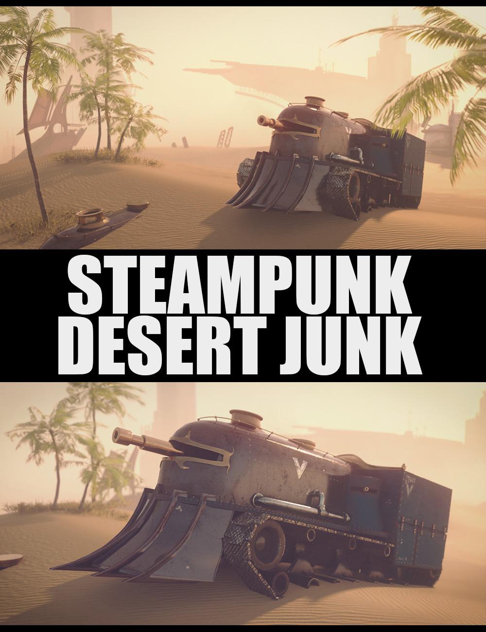 Steampunk Desert Junk by: Dreamlight2 create HB, 3D Models by Daz 3D