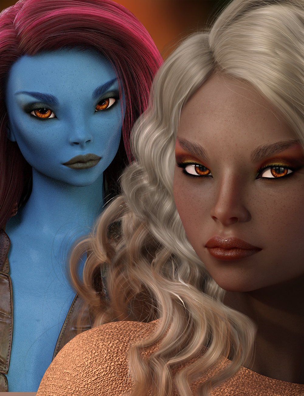 Dusti for Genesis 8 and Honni 8 by: hotlilme74, 3D Models by Daz 3D