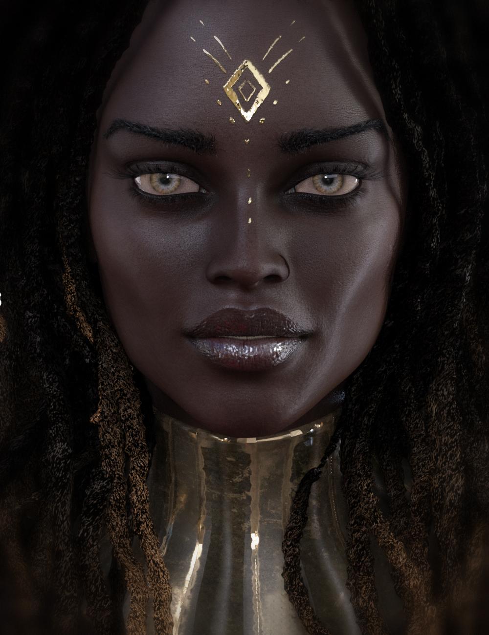 CB Nefer HD for Genesis 8 Female by: CynderBlue, 3D Models by Daz 3D