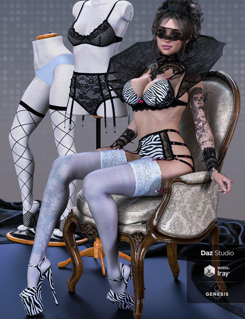 Masquerade Expansion for Mystique 2 by: Herschel Hoffmeyer, 3D Models by Daz 3D